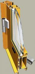 D rzwi aluminiowe PONZIO NT 60 PT