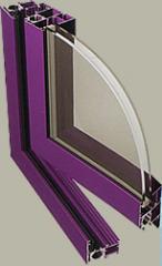 Okna aluminiowe PONZIO PE 52