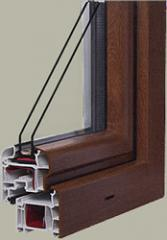 Okna PCV Perfectline Półzlicowany