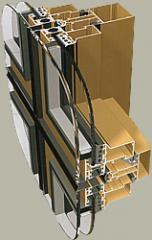 Fasady aluminiowe PONZIO NT 152 SG