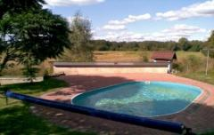 System materials for pools coating