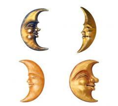 Płaskorzeźby - księżyce