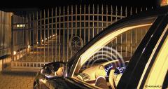 Gates automatic sliding