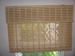 Maty bambusowe rolowane