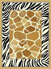 Dywan Zebra i Żyrafa