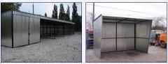 Garaże z wiatą Przystanki autobusowe
