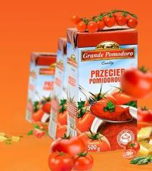 Przeciery pomidorowe Grande Pomodoro