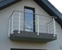 Balkony - balustrady ze stali nierdzewnej INOXTOM