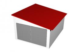 Garages, above-ground, single-stage