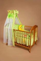 Stelaż baldachimu - do łóżeczka dziecięcego