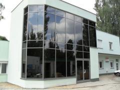 Zabudowy aluminiowo-szklane