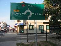 Znaki kierunku i miejscowości - tablice drogowe