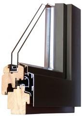 Okna drewno-alu STYLE 68-ALU