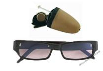 Mikrosłuchawka bezprzewodowa z okularami bluetooth