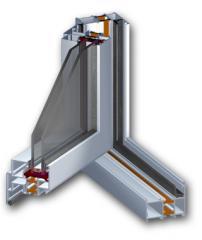 Drzwi aluminiowe SP 60