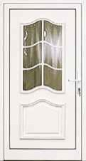 Drzwi zewnętrzne - PCV