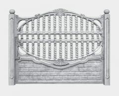 Ogrodzenia betonowe Model 5
