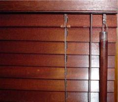 Żaluzje 25mm drewniane