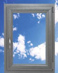 Okna tytanowe termo PCV