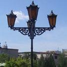 Lampy uliczne stojące