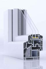 Okna w systemie VEKA Alphaline 90+