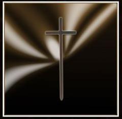 Krzyż Dębowy Ciemny  Model: KDC