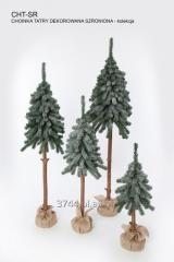 Choinka sztuczna  na pniu naturalnym zielona bez dekoracji 50 cm/70cm/80cm/115cm/135cm/160cm/