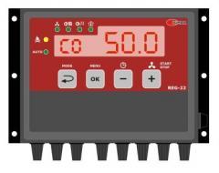 Sterownik temperatury wody do kotłów na paliwa stałe z kontrolą pracy pomp c.o. i c.w.u.