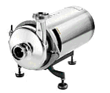 Jednostopniowa pompa sanitarna AISI 316L