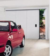 Drzwi przeciwpożarowe przesuwne UNI 9723 REI 60,