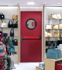 Drzwi przeciwpożarowe UNI 9723 REI 60 i REI 120