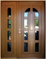 Drzwi zewnętrzne z naświetlem