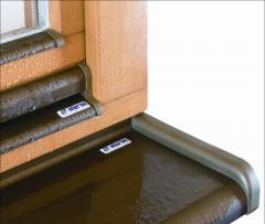 Zewnętrzne parapety aluminiowe ALURON - Soft-Line