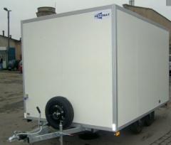 Przyczepy typu AM. Przyczepy izotermiczne, skrzyniowe, furgony.