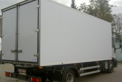 Isothermal bodies of trailers