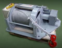 Wciągarki elektryczne linowe