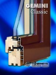 Okna drewniano aluminiow