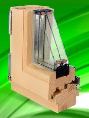 Okna drewniane w linii PASIVLINE 92 mm
