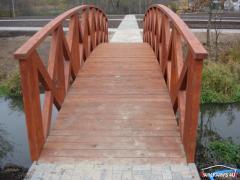 Mostki ogrodowe