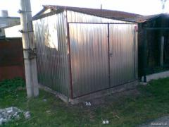 Garaż spad w bok 3,5 x 5