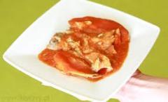 Filet makreli w pomidorach