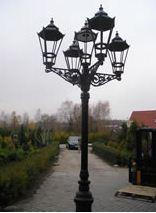Odlewy aluminiowe i mosiężne lamp, mebli