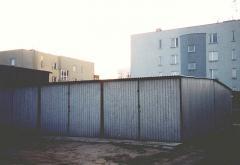 Garażу metalowe