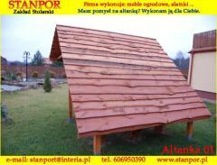 Drewniane altanki ogrodowe