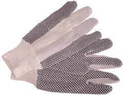 Rękawice drelichowe z nakropieniem