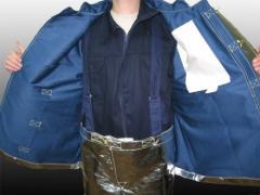 Ubranie ochronne żaroodporne typ OB-58/OS-58