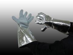 Rękawice ochronne dla hutnika