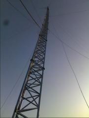 Maszty i wieże aluminiowe dla telekomunikacji