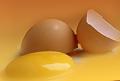 Żółtko jaja. Opakowanie jednorazowe, lub ze stali nierdzewnej.