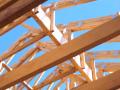 Więźba dachowa z impregnacją